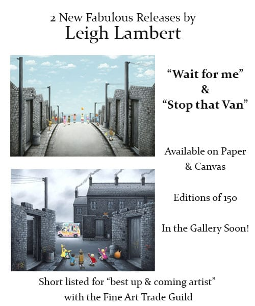 2 NEW RELEASES FROM LEIGH LAMBERT!