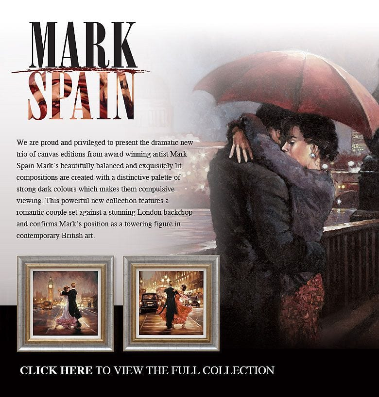 New Collection by Award Winning Artist Mark Spain at Smart Gallery Now!