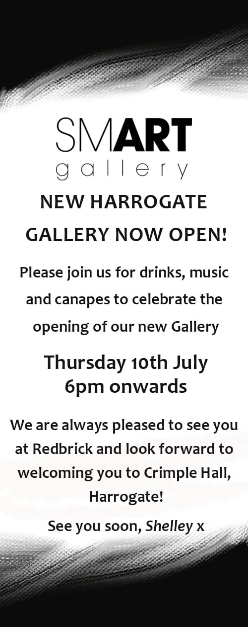 New Harrogate Gallery Opening Party – Thursday 10th July