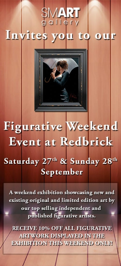 Figurative Weekend Event at Redbrick | 10% Off All Figurative Artwork | 27th & 28th September