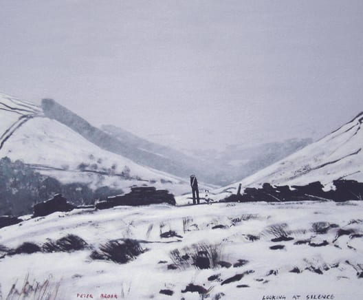 A celebration of the work of Peter Brook RBA at Smart Gallery