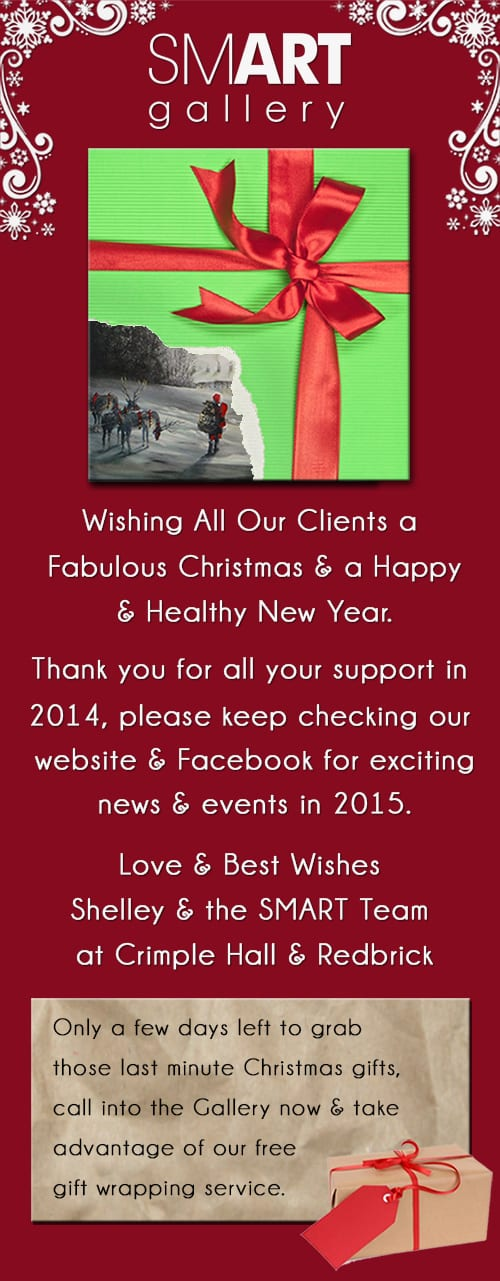Merry Christmas & a Happy New Year From Smart Gallery