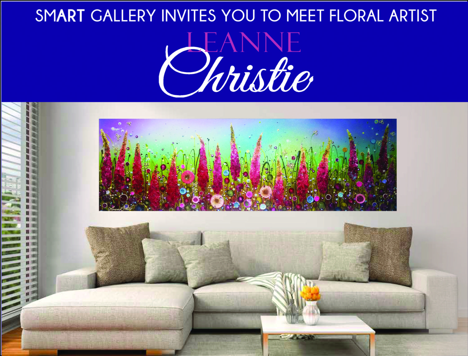 Leanne Christie Exhibition & Gallery Re-Launch – Sunday 18th September
